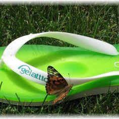 Summer with Gelattto #gelattto #flipflops #fnplatform #vegas #butterflies