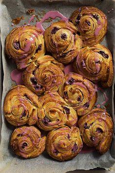 Cherry Cheesecake Danish // The Sugar Hit