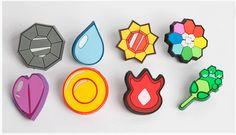 Medallas pokemon de Kanto