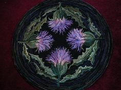 thistle rug