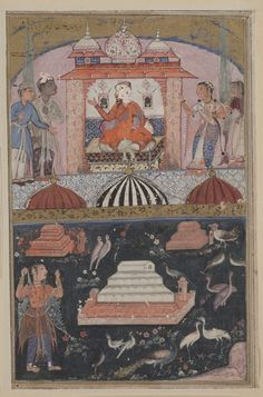 Tuti-nama (Tales of a Parrot) - Tale l : the merchant hears of his wife being unfaithful.