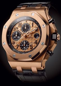 Audemars Piguet [NEW] Royal Oak Offshore Chronograph 26470OR Rose Gold (Retail:HK$319,000) - CNY Special Offer at:- HK$281,000.