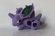 Crocheted male Nidoran by Pokemon Crochet Challenge                                                                                                                                                                                 More