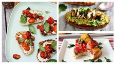 """Asparagus Bruschetta Recipe -For a light bite, Elaine Sweet created these pretty appetizers. """"I really like asparagus, so I'm always trying it in different things,"""" says the Dallas, Texas reader. """"This is a delicious twist on traditional bruschetta. Olive Garden Appetizers, Olive Garden Recipes, Best Bruschetta Recipe, Bruschetta Recipe Olive Garden, Tomato Bruschetta, Bacon On The Grill, Asparagus Recipe, Asparagus Dishes, Grilled Veggies"""