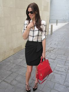 Workwear chic!