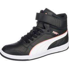 #PUMA #Damen #Liza #Mid #Sneakers #schwarz Die PUMA Liza Mid Sneakers überzeugen…
