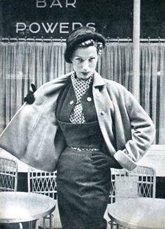 Ensemble Christian Dior, Libelle (Dutch) September 1951