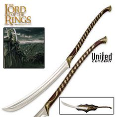 The Lord of the Rings High Elven Warrior Sword - BUDK - I always wanted one of these XD