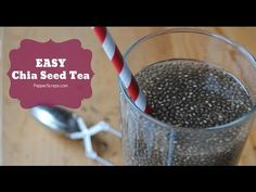 Easy Chia Seed Tea Recipe - YouTube