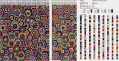 Абстракция : формат dbb и jbb : Схемы для вязаных чехлов для телефонов и сумочек : Файлы : jbead