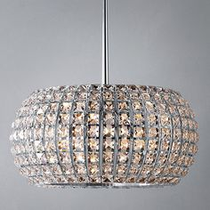 This is so beautiful, but so expensive!! Buy John Lewis Venus Chandelier Online at johnlewis.com