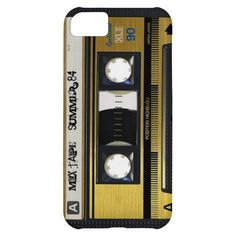 iPhone 5 Cassette Tape Retro Mix Tape Cover 1984 Cover For iPhone 5C