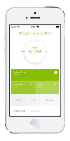 Uwana - iPhone app screenshot