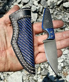 """34 Likes, 3 Comments - Thomas Padgett (@brute_force_blades) on Instagram: """"Finally finished the sheath for the custom Thermo Mod.2!! Alot of wasted carbon fiber trying to…"""""""
