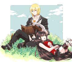 Eizen x Velvet O///O || Tales of Berseria || I like this couple. <3