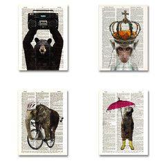 Animal 4 Pack, Matt Dinniman