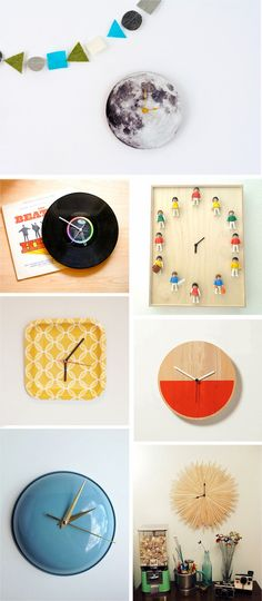 Ohoh Blog - diy and crafts: DIY Monday # Clocks