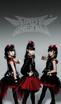i recently started listening to babymetal because i want to learn japanese, and i have to say, theyre awesome