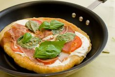 Pan Fried Pizza.