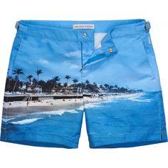 Ready for the beach:Orlebar Brown BullDog #MensStyle #followers #summer2013 #CasualWear