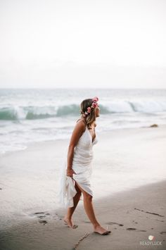 The prettiest beach wedding: http://www.stylemepretty.com/california-weddings/malibu/2015/04/15/bohemian-beachfront-malibu-wedding/ | Photography: Readyluck - http://readyluck.com/