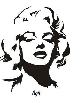 1950s Profile Digital Art (gif #1)  by:  Hal Grey Hawk Brower