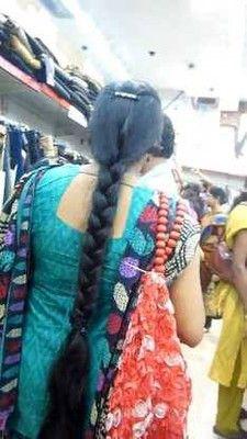Indian Hairstyles, Braided Hairstyles, Indian Braids, Indian Long Hair Braid, Thick Braid, Trisha Krishnan, Big Bun, Beautiful Braids, Super Long Hair