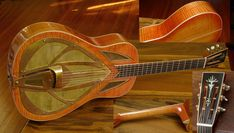Vintage American Guitar - Nobles Custom Resonator Guitar