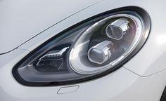 2014 Porsche Panamera Turbo S Headlight Exterior