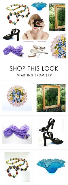 The new view of vintage. by seasidecollectibles on Polyvore featuring Gorham, Blenko and vintage