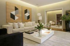 Living - Sala de Estar - Projeto Residencial Deborah Basso Arquitetura&Interiores #J Vilhora