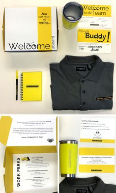 Introducing Boxer's New Hire Kit!  Our HR and Marketing teams have collaborated to create a welcome kit for our newest employees containing everything needed to survive their first day. A few things our new hires will find in the kit:  Welcome to the Team: Tips for their first day on the job  Work Perks: List of available benefits  Hi-ya Buddy: An assigned team member to show them the ropes  And a load of Boxer goodies!  It's our way of welcoming our newest team members to the Boxer family…