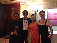 Dinner Gala with friends from India