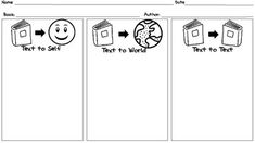 Text connections graphic organizer FREEBIE!!