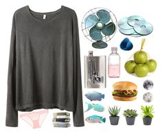 """""""lazy day at home"""" by helooksoperfc ❤ liked on Polyvore featuring R13, L'Agent By Agent Provocateur, Pier 1 Imports, River Island and Lord & Berry"""