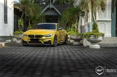 Perfecting the Composition // BMW M4 on BBS