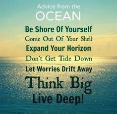 Sayings About the Sea
