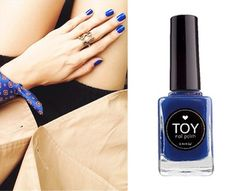 DEEP BLUE by TOY nail polish