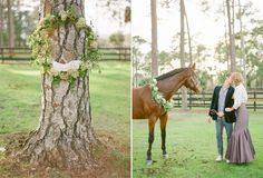 In love..... An Equestrian Engagement - KT Merry Photography