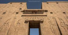 https://flic.kr/p/B37jBg   Main entrance: Ptolemaic Temple of Horus of Behdet