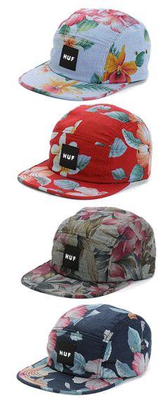 2760aaa86356 HUF Men s 5 Panel Hats