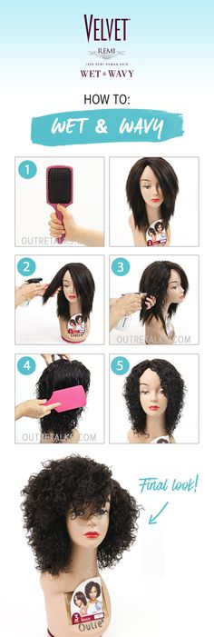 How to Activate Wet & Wavy Curls