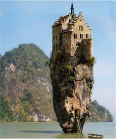 Amazing Beach rock house from Ireland. | See More Pictures
