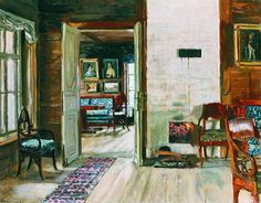 The Athenaeum - Interior of an Old House (Stanislav Zhukovsky - )