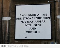 Found this funny poster in Brick Lane st. In London.