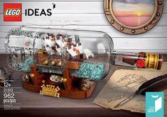 LEGO Ideas 21313 Ship in a Bottle : l'annonce officielle: LEGO annonce enfin officiellement le set LEGO Ideas 21313 Ship in a Bottle,… #LEGO