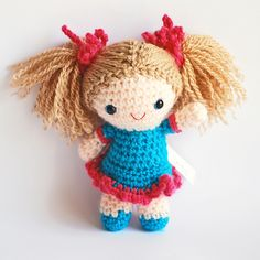 """SALLY Crochet Amigurumi Doll by Yillup, via Flickr"" #Amigurumi  #crochet"