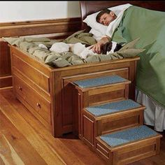 Great dog bed. Too bad Ziva sleeps in a crate at night! This bed is awesome!