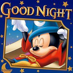 Good Night Greetings, Good Night Wishes, Good Night Sweet Dreams, Mickey Mouse Images, Mickey Mouse And Friends, Mickey Minnie Mouse, Good Night Gif, Good Night Image, Nighty Night