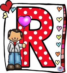 Alphabet Templates, Cute Alphabet, Activity Days, Free Printables, Valentines Day, Minnie Mouse, Clip Art, Symbols, Rainbow